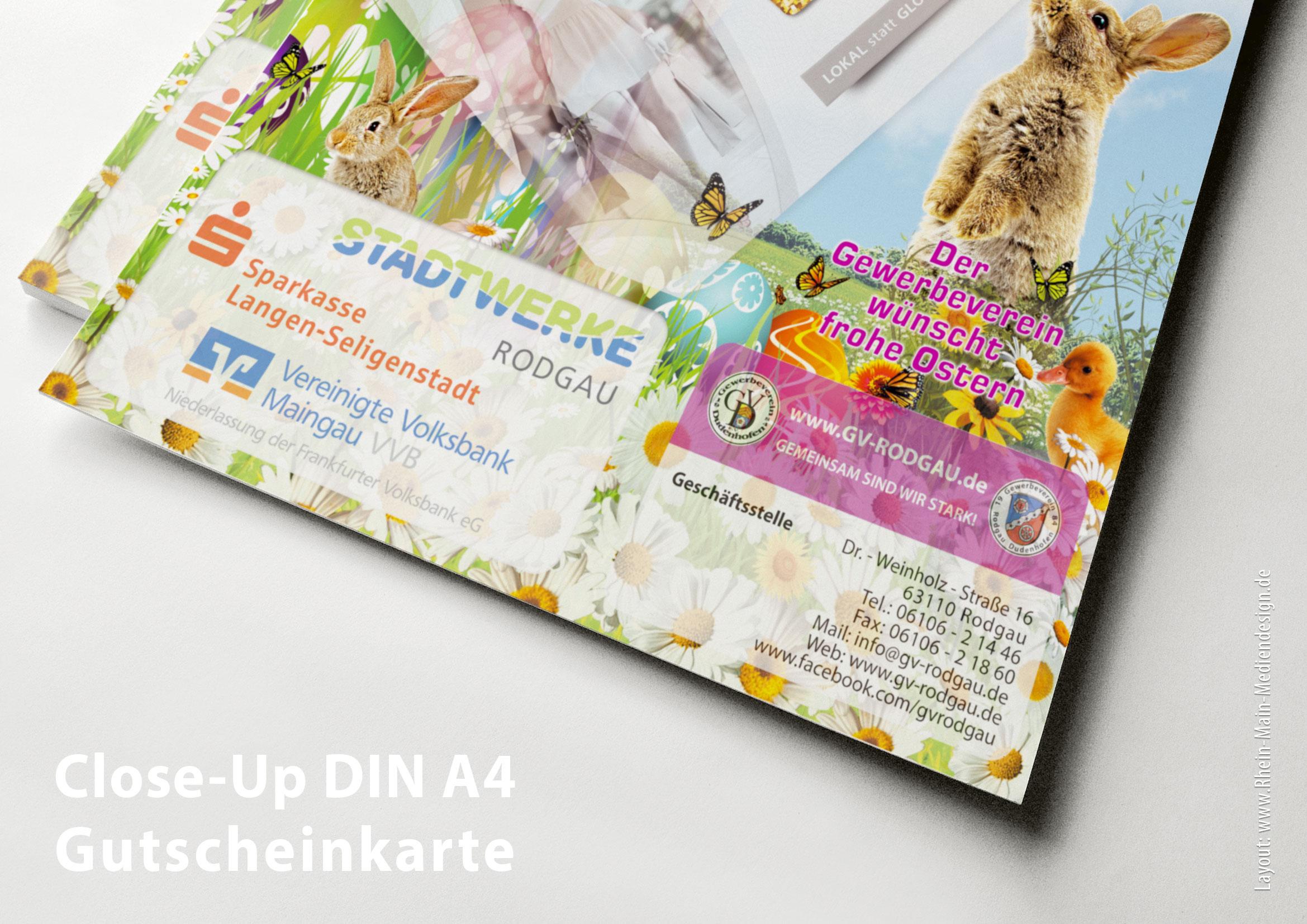 04042016 Der Rodgauer Einkaufsgutschein