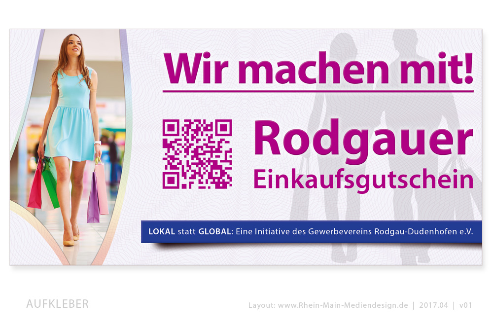 Rodgauer Gutscheine vom Gewerbeverein Rodgau Dudenhofen e.V.