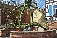 23.03.2017 - Osterbrunnen am Standesamt