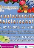 02.10.2016 Rodgauer Krautschneide-Meisterschaft