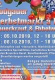 5.10+6.10.2019 - Rodgauer Herbstmarkt à la Sauerkraut und Eppelwoi