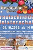 06.10.2019 Hessische Krautschneide-Meisterschaft