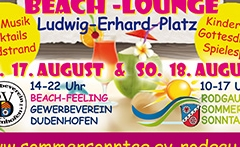 "17. + 18.8.2019 Rodgauer Sommer Sonntag ""on the Beach"" in Dudenhofen"