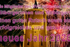 01.01.2020 - Ein frohes neues Jahr