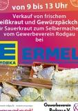 2.10.2021 - Sauerkraut zum Selbermachen bei EDEKA