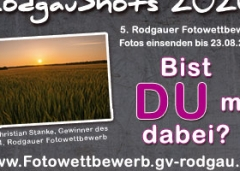 """Rodgauer Fotowettbewerb """"Rodgau Shots 2020"""""""