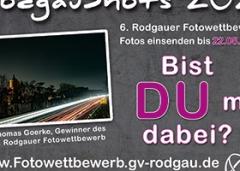 """Rodgauer Fotowettbewerb """"Rodgau Shots 2021"""""""