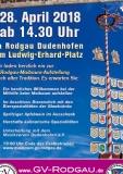 28.04.2018 - 8. Maibaum aufstellen Rodgau