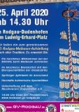 25.04.2020 - 10. Maibaum aufstellen Rodgau