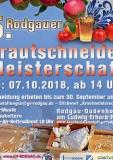 07.10.2018 Rodgauer Krautschneide-Meisterschaft