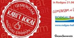 21.06.2020 - Sonntagsöffnung in Rodgau!