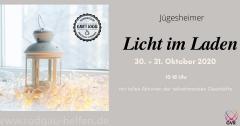 """Aktion """"Licht im Laden"""" 30.+31.10.2020"""