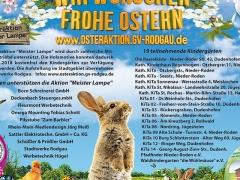 Frohe Ostern wünscht der GVD 2018