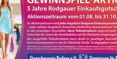 Gewinnspiel 5 Jahre Rodgauer Einkaufsgutschein 2021
