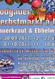 30.9+1.10.2017 - Rodgauer Herbstmarkt à la Sauerkraut und Eppelwoi